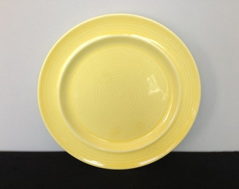 Metlox Colorstax Yellow Dinner Plate
