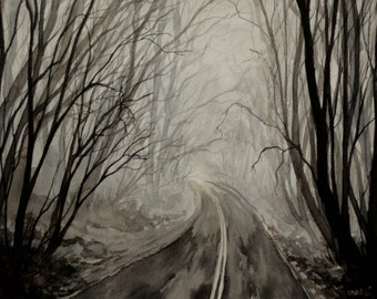 Road to Nowhere Print