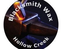 Blacksmith Wax, All Natural, Metal Polish, Wood Polish, , Leather Conditioner, Free Shipping,