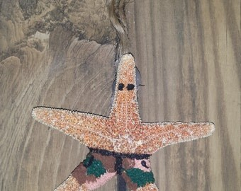 Starfish Christmas Ornament Beach Ready