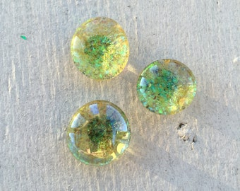 Lemon Drop Glitter Magnets
