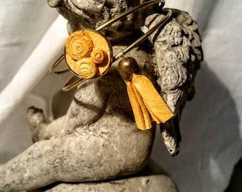 Bracelet moutarde