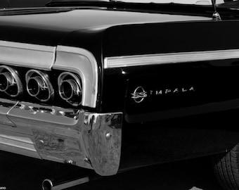 Chevy Impala, Giclee Print, Chevrolet, Impala SS, Old car, Muscle Car, Man Cave Art, Wall Hanging, Wall Art, Fine Art Photo, Garage Art