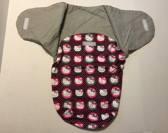 Flannel Hello Kitty Baby Bunting