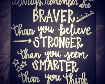 Braver than you think
