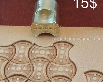 Tools for leather crafts. Stamp #32
