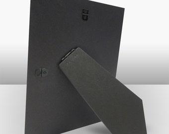 cardboard easel backs 8x10 frame backing tile photo backs usa made 10 pack actual size 7 78 x 9 78