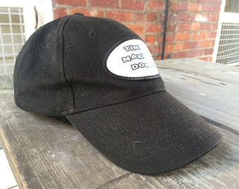 """Black """"Time To Make The Donuts"""" Hat"""