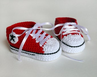 Booties style converse