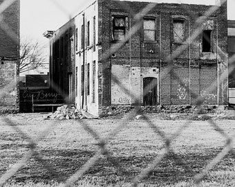 Abandoned Building- Landscape Film Photography Print