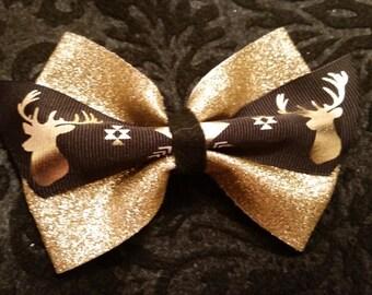 Gold Deer Bow