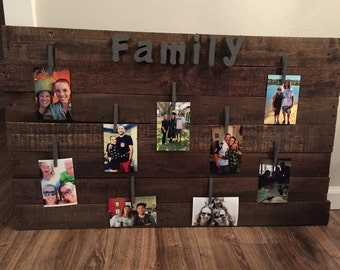 Pallet Photo Display