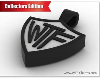 WTF Necklace PVD Powder Coated