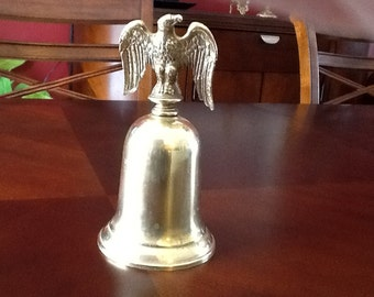American Eagle Brass Bell