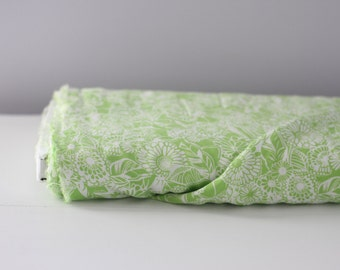 Lime Green Print By The Yard