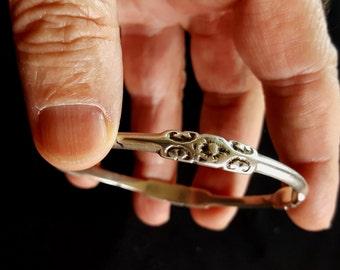Superb silver bracelet South of Morocco - Essaouira