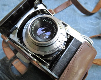 Voightlander Vito II 35mm German Camera with Original Leather Case