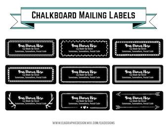 Address label template | Etsy
