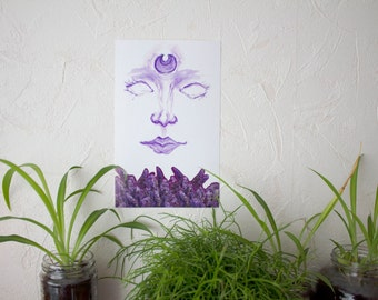 Fresh Moon print