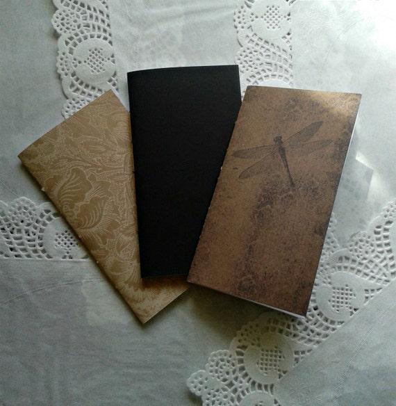 Inserts - Travelers Notebook Insert - Fauxdori Insert - Midori ...