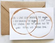 Gilmore Girls Coffee Card