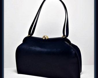 Vintage Dofanette Handbag, Vintage Leather Handbag, Vintage Handbag, Vintage Dofanette Purse, Vintage Purse, Vintage Dofan Handbag