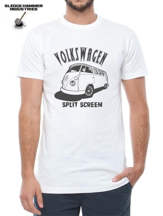 Vw Split Screen Kombi Volkswagen T Shirt Mens T Shirt Vw