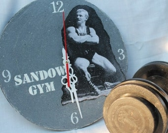 Vintage clock Sandow Gym