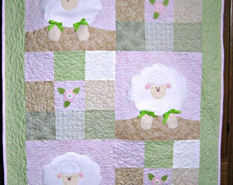 Quilts for Sale  Three Little Lambs