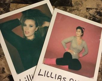Signed Polaroids