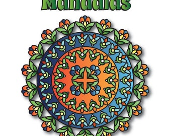 Stress - Free  Mandalas - Digital Download