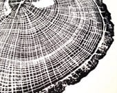 "Original Oak Tree Print, unframed (18""x24"" or 11""x14"")"