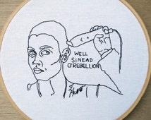Sinead O'Rebellion // Empire Records Deb Embroidery