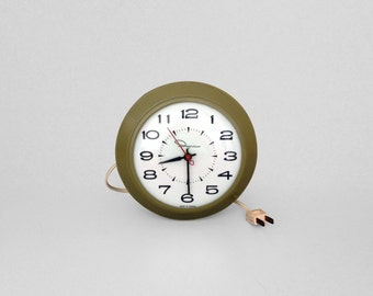 Made In Canada Clock Etsy