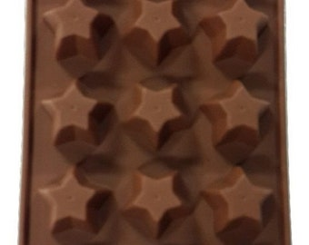 Taavi Stars Silicone Mold (Candy, Chocolate, Ice cubes, Finger Jello, Butter, Wax) (T802)