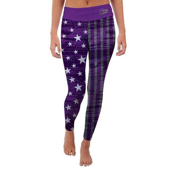 Mount Union Purple Raiders Yoga Pants Designs