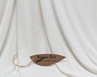 Organic Cotton & Bamboo Fabric - 210g/m2 Jersey (2m)