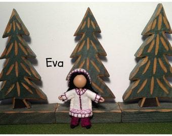 Little Sister Eva - Pocket Doll - Bendy Doll