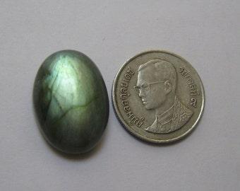Labradorite cabochon 15 x 21 mm oval shape semi precious gemstone cabochon id91