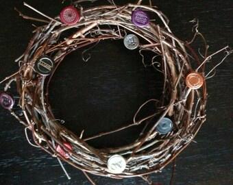 Medium Wino Wreath