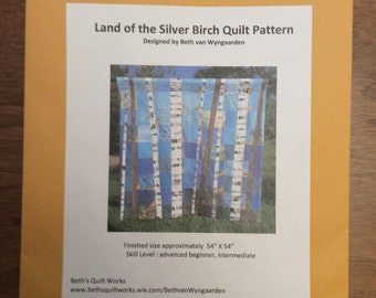 Land of the Silver Birch Quilt Pattern
