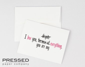 I Love You Everything Valentines Day Printable Card