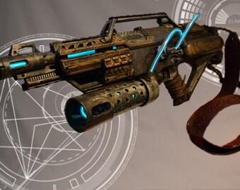 Steampunk, Cyberpunk, Cosplay Stampede Nerf Gun