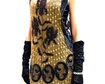1920's Style Iris Dress