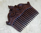wooden comb  hair