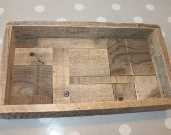 Tray old Patinated wood