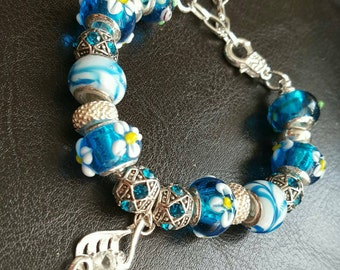 European Murano glass bracelet
