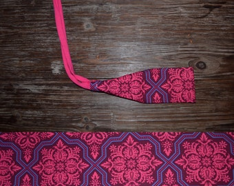 Tie-Back Headband- Bali Pink