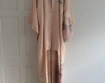 light pink kimono