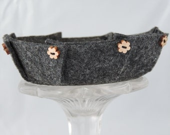 Felt Bowls for Jewellery, Keys, Toys, Office Supplies, Hair Accessories